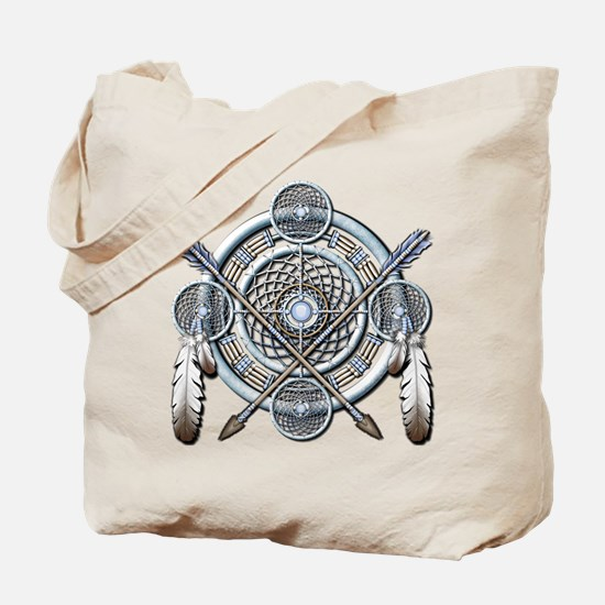 Winter Blue Dreamcatcher Tote Bag