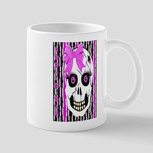 Halloween Girl Scull Mug