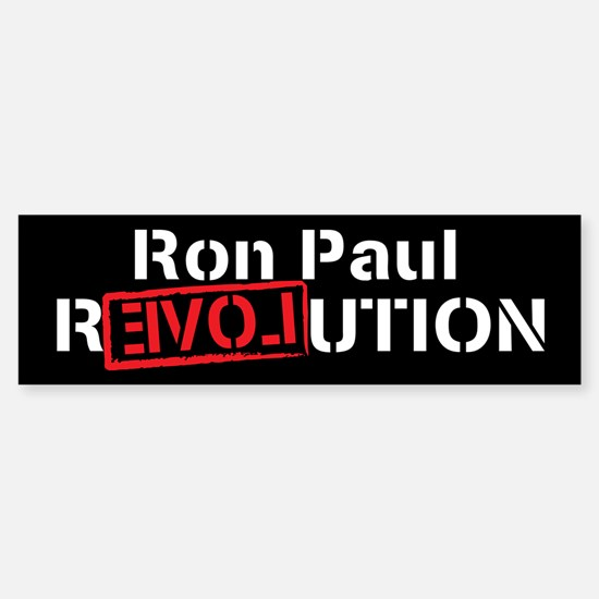 Ron Paul 2012 Sticker (Bumper)