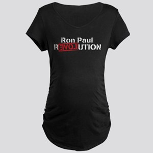 Ron Paul 2012 Maternity Dark T-Shirt
