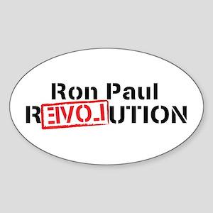 Ron Paul 2012 Sticker (Oval)