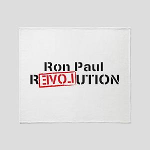 Ron Paul 2012 Throw Blanket
