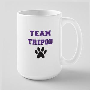 Team Tripod With Single Paw Print Mugs