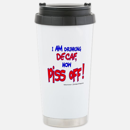 It IS Decaf Stainless Steel Travel Mug