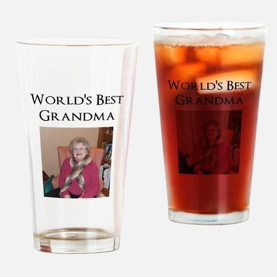 Cute Mothers day grandma Drinking Glass
