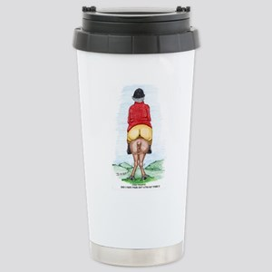 Funny Big Ass Fox Hunt Stainless Steel Travel Mug