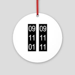 9/11 tenth Ornament (Round)