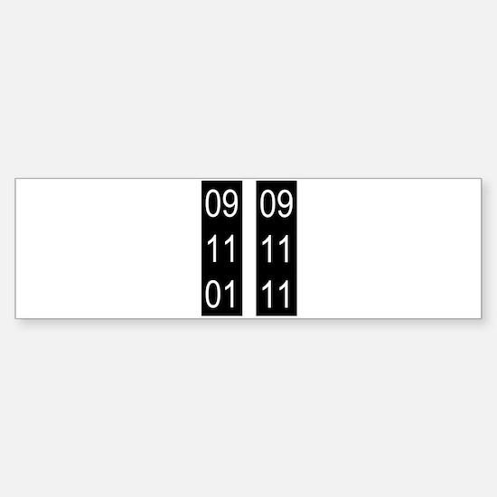 9/11 tenth Sticker (Bumper)