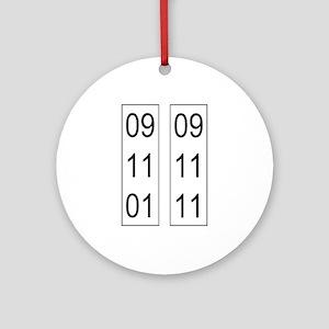 9/11 10th Ornament (Round)