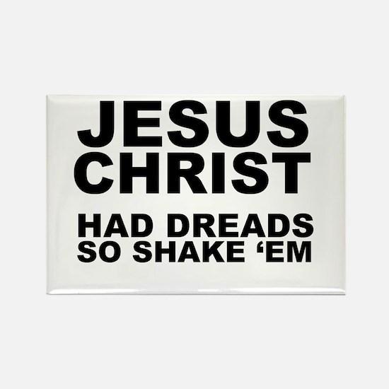 Jesus had Dreads Rectangle Magnet