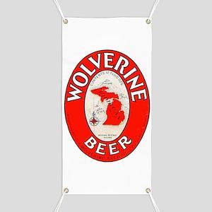 Michigan Beer Label 1 Banner