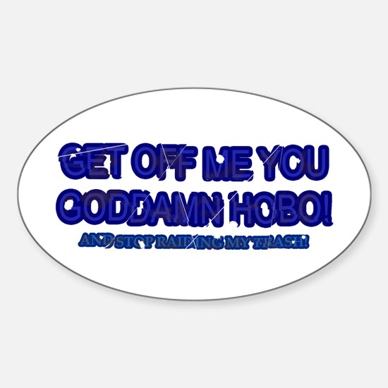 Hobo Oval Decal
