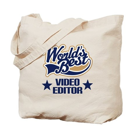 Video Editor Gift (Worlds Best) Tote Bag