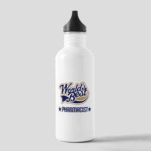 Pharmacist Gift (Worlds Best) Stainless Water Bott