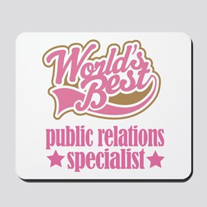 Public Relations Specialist Gift (Worlds Best) Mou