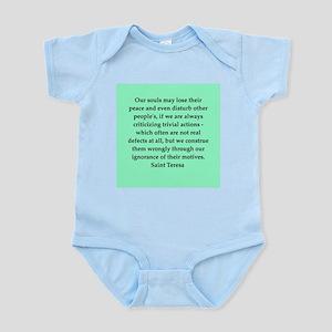Saint Teresa Infant Bodysuit