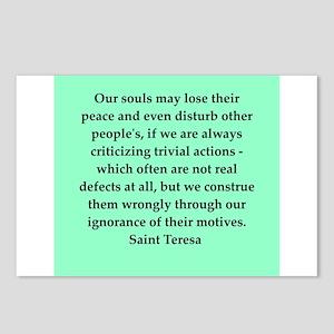 Saint Teresa Postcards (Package of 8)