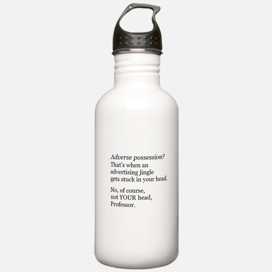 Adverse Possession Water Bottle