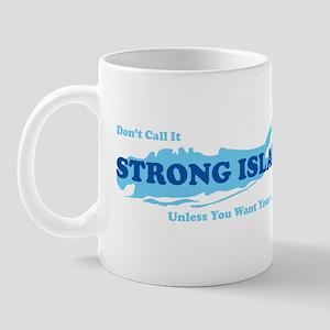 Strong Island - BLUE Mug