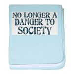 Danger To Society baby blanket