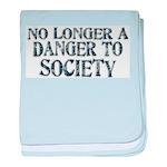 Danger To Society baby blanket