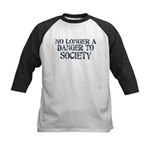Danger To Society Kids Baseball Jersey