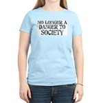 Danger To Society Women's Light T-Shirt