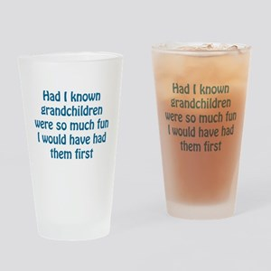 Had I Known Drinking Glass