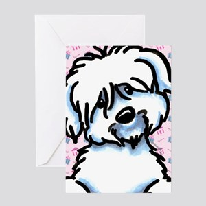 Coton de Tulear Shower/Birthday Greeting Card