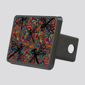 Hippy Dragonfly Flit Rectangular Hitch Cover