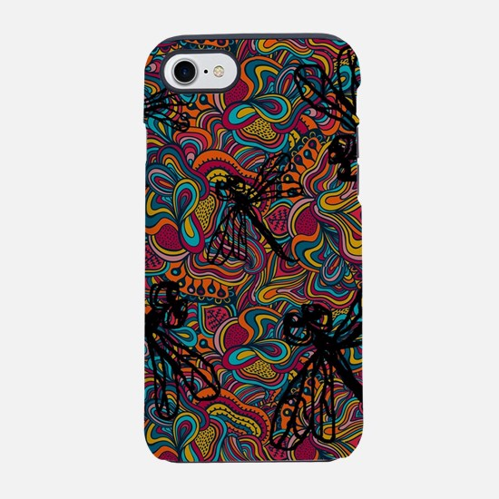 Hippy Dragonfly Flit iPhone 7 Tough Case