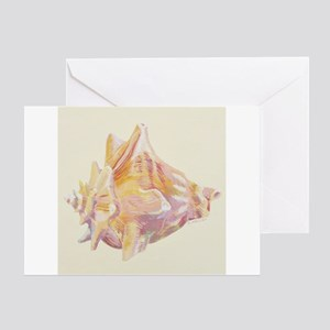 Shell Ii Greeting Cards