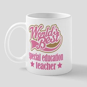 Special Education Teacher Gift (Worlds Best) Mug