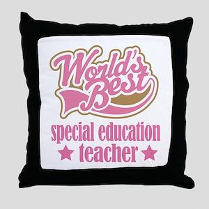 Special Education Teacher Gift (Worlds Best) Throw