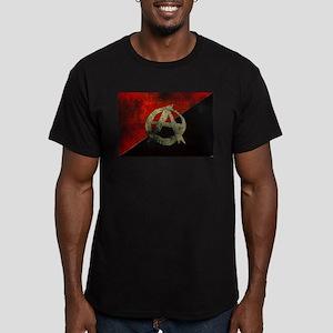 Anarcho Men's Fitted T-Shirt (dark)