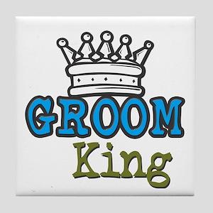 Groom King Tile Coaster
