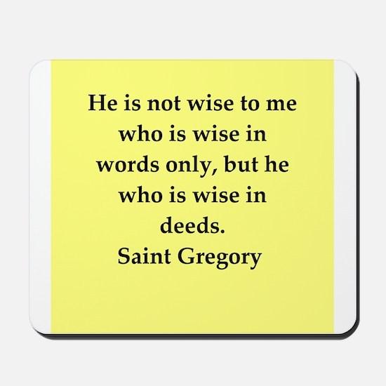 Saint Gregory Mousepad