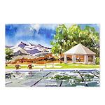 Terrace Club Pool Postcards (package Of 8)