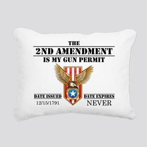 My Permit Rectangular Canvas Pillow