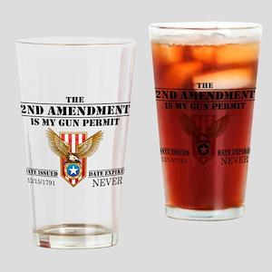 My Permit Drinking Glass