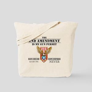 My Permit Tote Bag