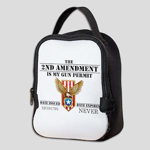 My Permit Neoprene Lunch Bag