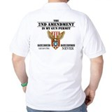 2nd amendment Polo Shirts