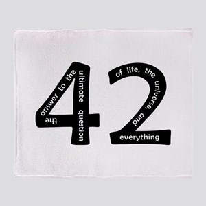 42 Throw Blanket