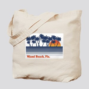 Miami Beach Fla. Tote Bag