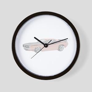 1970 Plymouth Barracuda - ora Wall Clock