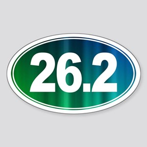 26.2 - Full Marathon - Sticker (Oval)