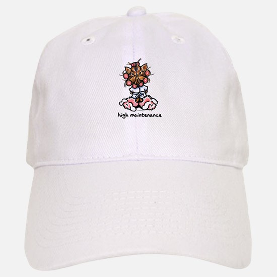 High Maintenance Yorkie Baseball Baseball Cap