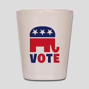 Republican Vote Shot Glass