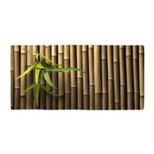 Bamboo Wall Beach Towel